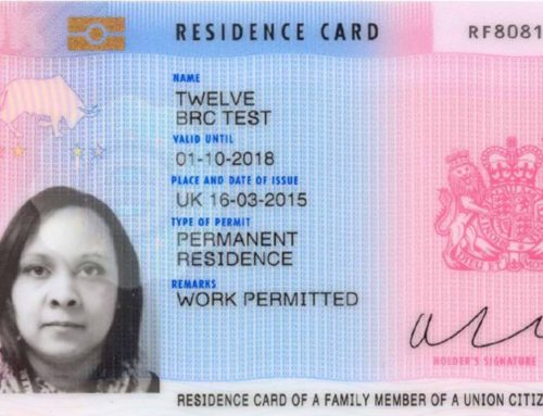 The Biometric Residence Permit